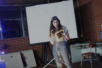School Literary Magazine Hosts Open Mic Night