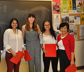 VHS Students Place Third in Mandarin Competition