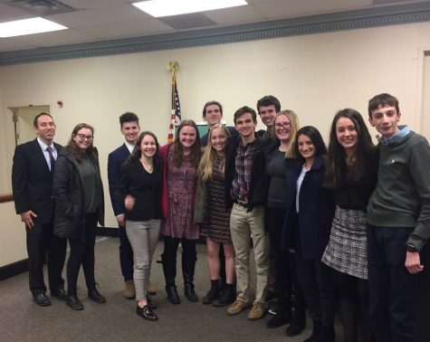 Mock Trial Reaches County Finals