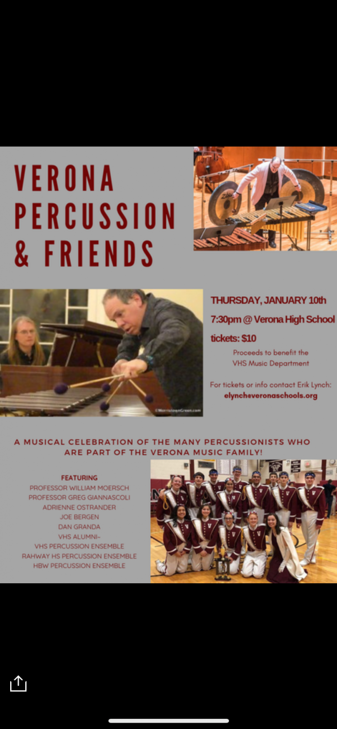 9fc9865cf70e Verona Percussion and Friends Concert Raises Money for Marching Maroon and  White