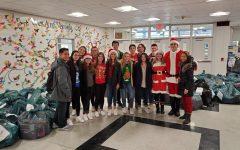 Santa Visits Hawkins School